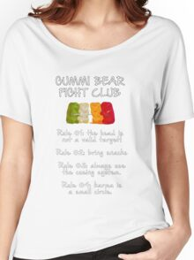 Gummi Bear Fight Club Women's Relaxed Fit T-Shirt