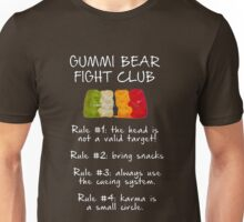 Gummi Bear Fight Club Unisex T-Shirt