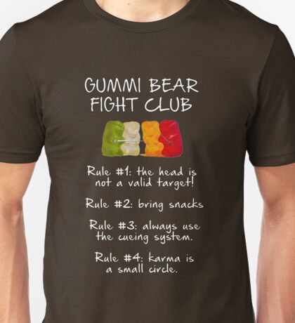 Gummi Bear Fight Club T-Shirt