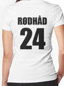 Rodhad 24 - techno tshirt Women's Fitted V-Neck T-Shirt