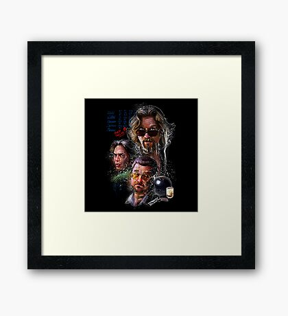 The Dudes Framed Print