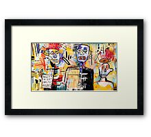 We Are Still Philistines Framed Print