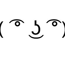 ( ͡° ͜ʖ ͡°) Le Lenny Face by ashwing
