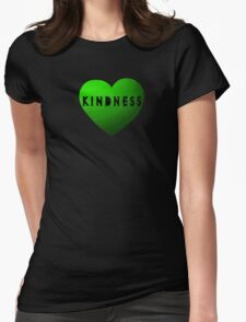 Undertale - Kindness Womens Fitted T-Shirt