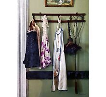 Aprons and Feather Duster Photographic Print
