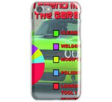 Time in the Garage iPhone Case/Skin