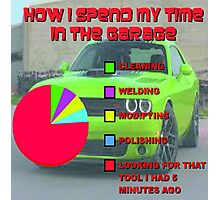 Time in the Garage Photographic Print
