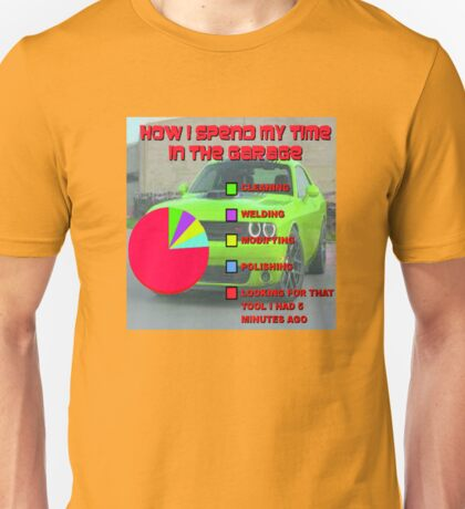 Time in the Garage Unisex T-Shirt