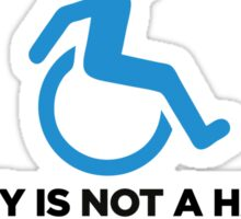 Stupidity is not a handicap. Parke elsewhere! Sticker