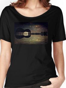 guitar island moonlight Women's Relaxed Fit T-Shirt