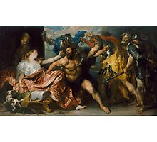 Samson and Delilah by Anthony van Dyck (1628 - 1630) Photographic Print