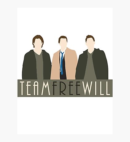 Team Free Will Photographic Print