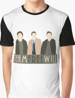Team Free Will Graphic T-Shirt