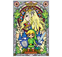 Kiss from Hyrule Photographic Print
