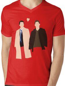 Destiel is real Mens V-Neck T-Shirt
