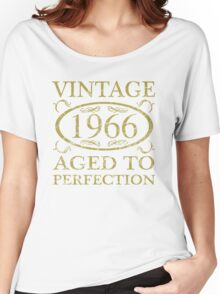 Vintage 1966 Birthday Women's Relaxed Fit T-Shirt