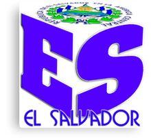 El Salvador ES Canvas Print