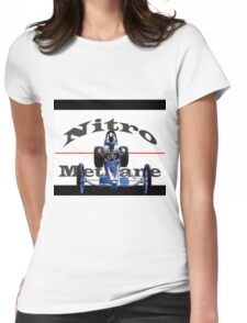 Nitro Nostalgia Dragster Womens Fitted T-Shirt