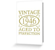 Vintage 1946 Birthday Greeting Card