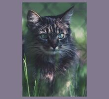 """Chat - Cat """" Tchink boom"""" 02 (c)(t) ) by Olao-Olavia / Okaio Créations 300mm f.2.8 canon eos 5 1989  Kids Tee"""