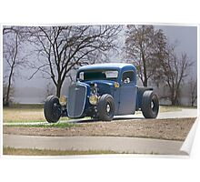 1935 Chevrolet 'Hot Rod' Pickup Poster