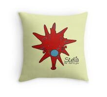 Stella the Astrocyte Throw Pillow