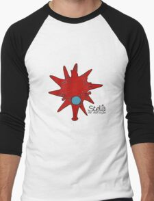Stella the Astrocyte Men's Baseball ¾ T-Shirt