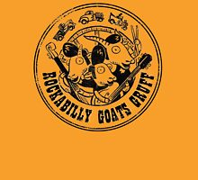 Rockabilly Goats Gruff Logo black distressed T-Shirt