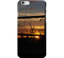 Wood Haven Sunset 1 iPhone Case/Skin
