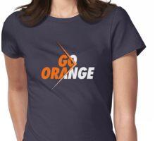 GO ORANGE - V3 Womens Fitted T-Shirt
