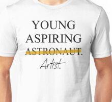 Young Aspiring Artist (Not Astronaut) T-Shirt