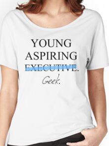 Young Aspiring Geek Women's Relaxed Fit T-Shirt