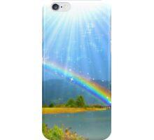 Rainbow Glitter iPhone Case/Skin