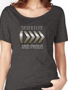 I'm Silver Elite and Proud Women's Relaxed Fit T-Shirt