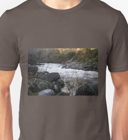 Sharrah Pool, River Dart, Devon Unisex T-Shirt