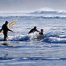 Whaddya Mean?  Surfing Isn't a Winter Sport? by Bryan D. Spellman