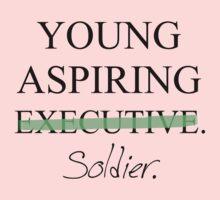 Young Aspiring Soldier Kids Tee
