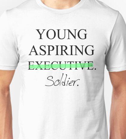 Young Aspiring Soldier Unisex T-Shirt