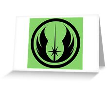 Jedi Passion Greeting Card