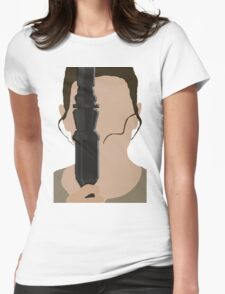 The Force Awakens: Rey Womens Fitted T-Shirt