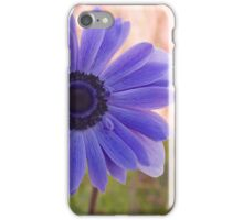 Blue Anemonie iPhone Case/Skin