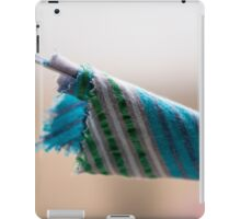 Blue and Green Bunting at Southwold beach iPad Case/Skin