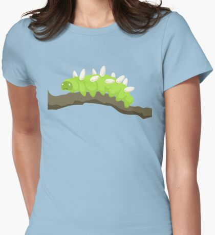 The Saddest Caterpillar Womens Fitted T-Shirt