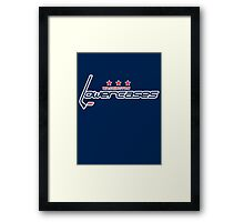 Washington Lowercases Framed Print
