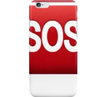 SOS emoji iPhone Case/Skin