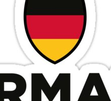 National flag of Germany Sticker