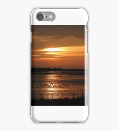 Sunset on Mersyside iPhone Case/Skin
