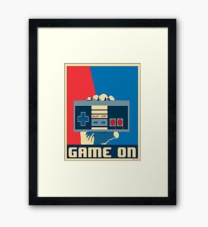 NES Revolution Framed Print