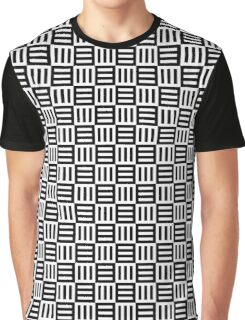 Black and white stripes Graphic T-Shirt