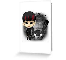 B.A.P - Matrix (Daehyun) Greeting Card